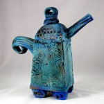 Marti Osnowitz, Time for Tea, Glazed Earthenware