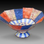 Honorable Mention, Nancy Beeman, A Chance of Spring, Ceramic /Textile