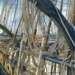 Kathy Palmer Genzman, Ship, Watercolor