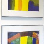 Third Place, Inga Reynolds, Untitled I and II, Printmaking