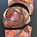Mary Ellen Taylor, Rising Sun, Ceramic