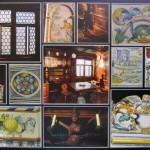 Carol Connelly Pletz, TMA Swiss Room (Villa from Lake Zurich Area), Photo Collage on Canvas 500