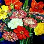 Summer Bouquet, oil
