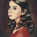 Young Girl, oil on canvas