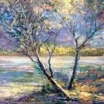 Sue Ann Ladd, First Light, oil