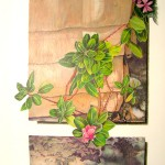 Mary Mossing Krueger, Seed Sown on the Rocky Place, colored pencil