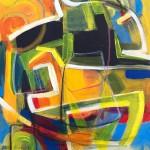 JULIE DRAEGER, Animal House, acrylic