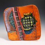 MARY ELLEN TAYLOR, The Red Line, ceramic