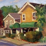Third Place, SUSAN RITTER, Waterville Shops, oil on panel