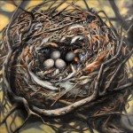 RANDI O'REILLY LOWRY, Feathered Nest, oil
