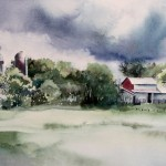 KAY KOCHER, Stormy Weather, watercolor