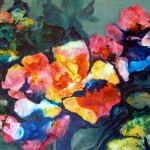BETTY JEAN JACOBSON, Brillance in Bloom, mixed media