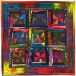 JOAN RIGAL, Jubilation, art quilt