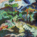 Kay Weprin, Fresh from the Country, oil pastel