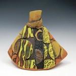 Mary Ellen Taylor, African Sun, ceramics