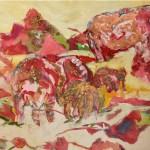 Kay Weprin, Far Away Jewel, mixed media