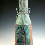 Mary Ellen Taylor, Turquoise Vase, ceramic