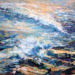 Sue Ann Ladd, Pacific Dreaming, acrylic on canvas